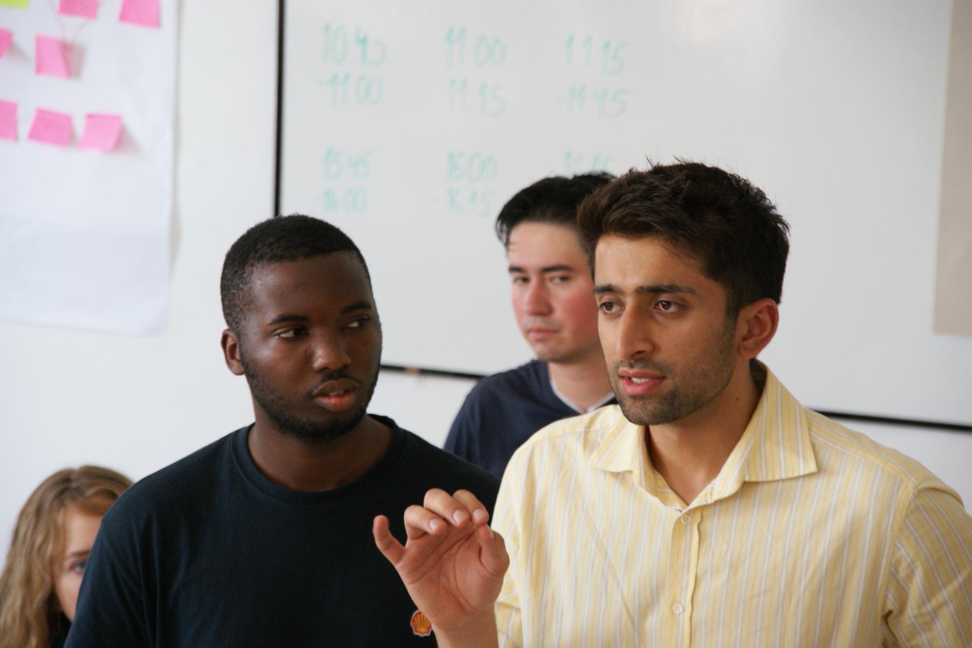 Herve Tunga & Salmaan Sana | Training Coordinators 2008