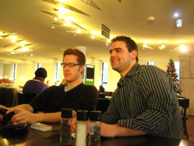 Philipp Baechle & Tim Govaert | Training Coordinators 2009