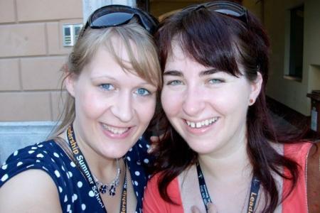 Louise W. Jensen & Alexandra Tomescu | Training Coordinators 2010