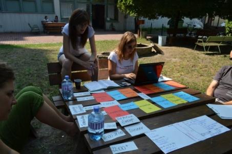 Irina Buruiana & Bernadett Polya | Training Coordinators 2012